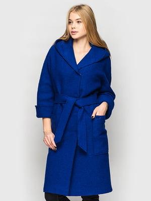 Пальто синее   5691644