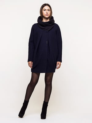 Пальто темно-синее | 5691648