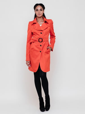 Плащ оранжевый | 5691650