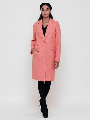 Пальто коралового кольору   5691656