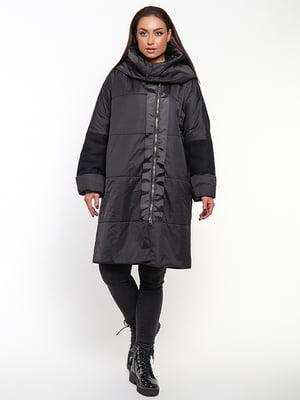 Пальто черное   5691632