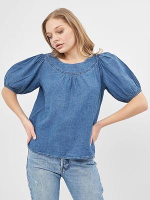 Блуза голубая | 5692454