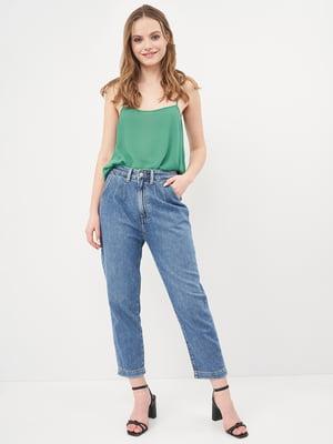 Блуза зеленая | 5692494