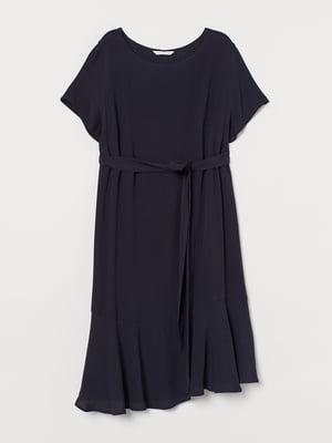 Платье темно-синее | 5692613