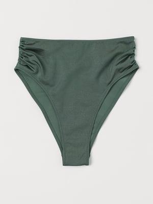 Трусы купальные темно-зеленые | 5692619