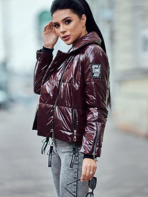Куртка бордова   5688721