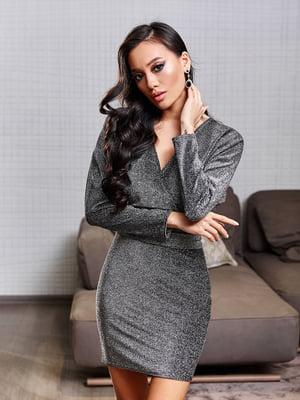 Сукня сріблястого кольору | 5688407