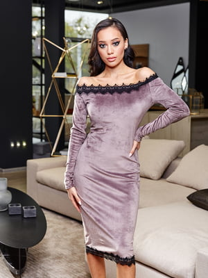 Сукня бузкового кольору   5688506