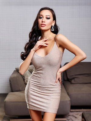 Сукня бежева | 5688361