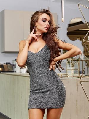 Сукня сріблястого кольору | 5688362