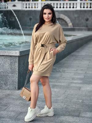 Платье кофейного цвета | 5688710