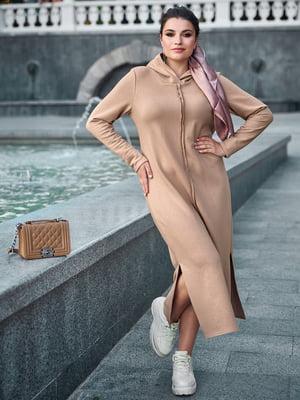 Платье кофейного цвета | 5688743