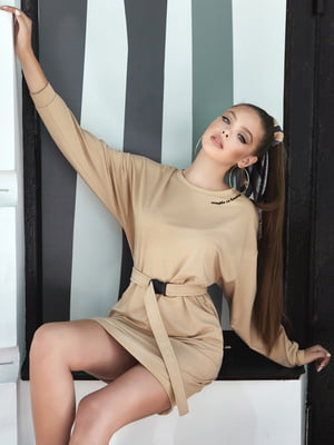 Платье кофейного цвета | 5688707