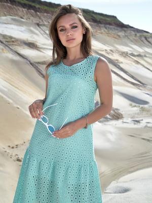 Платье бирюзовое   5688658