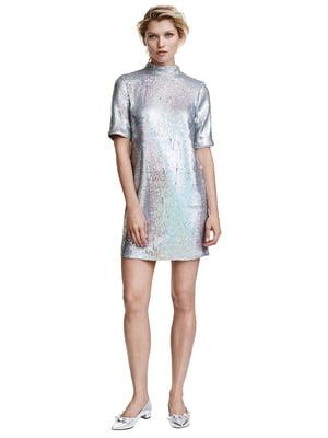 Сукня сріблястого кольору | 5692148