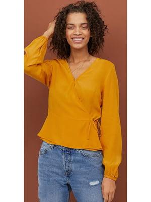 Блуза горчичного цвета | 5692223