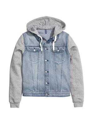 Куртка сине-серая | 5692768