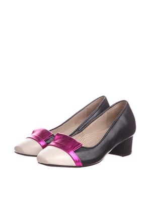 Туфли комбинированного цвета | 5694136