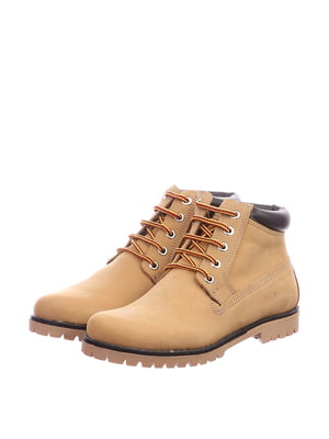Ботинки бежевого цвета | 5694188