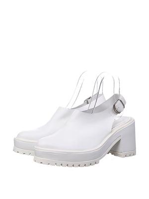 Босоніжки білі | 5694219