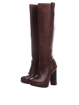 Чоботи коричневого кольору | 5694225