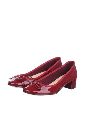 Туфли вишневого цвета | 5694246