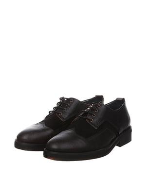 Оксфорди темно-коричневого кольору | 5694471