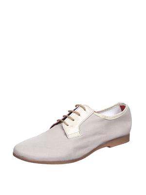 Туфлі світло-оливкового кольору | 1808111