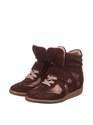 Снікерси коричневі | 3613580