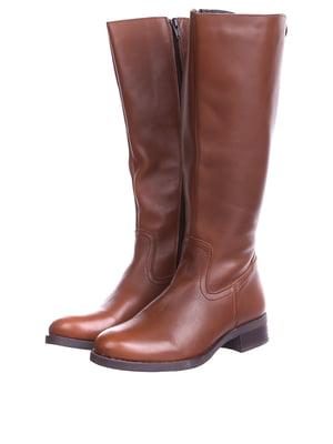 Сапоги коричневого цвета | 5694125