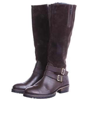 Сапоги коричневого цвета | 5694180
