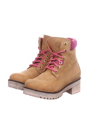 Ботинки бежевого цвета   5694232