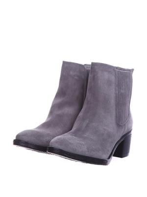 Ботинки серые | 5694256