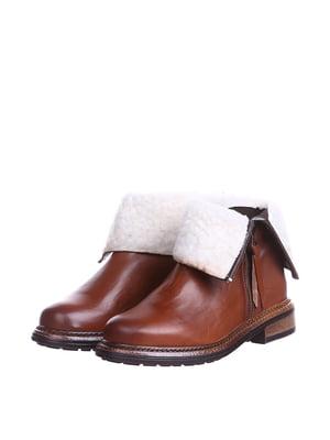 Ботинки коньячного цвета | 5694282