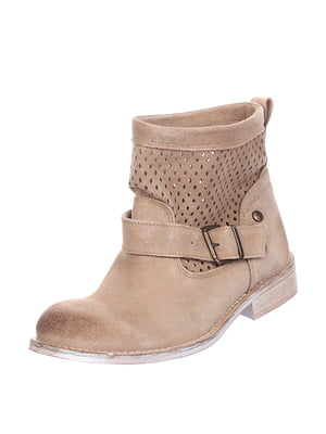 Ботинки бежевого цвета | 5694347