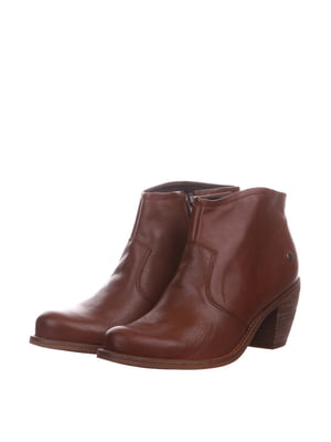 Ботинки коньячного цвета | 5694355