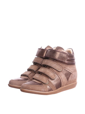 Ботинки бежевого цвета | 5694426