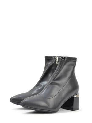 Ботинки черные | 5694076