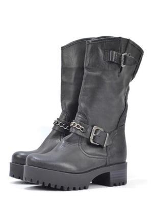 Ботинки черные | 5694085