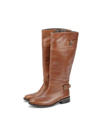 Сапоги коричневого цвета | 5694096