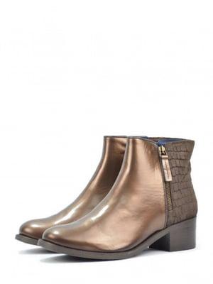 Ботинки бронзового цвета | 5694265