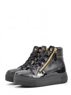 Ботинки черные | 5694279