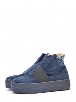Ботинки синие | 5694280