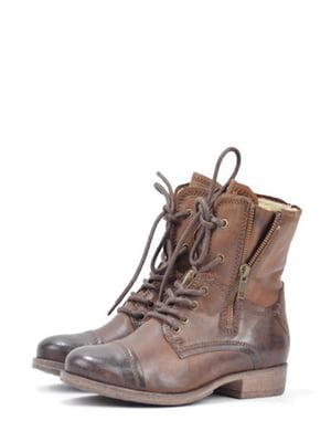 Ботинки коричневого цвета | 5694333