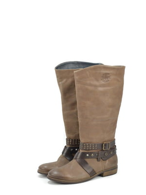 Сапоги коричневого цвета | 5694335