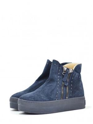 Ботинки синие | 5694372
