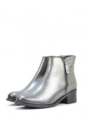 Ботинки серебристого цвета | 5694373