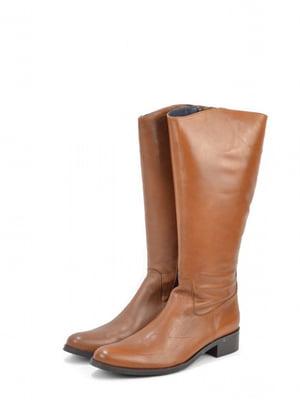 Чоботи коричневого кольору   5694396