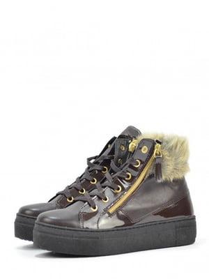 Ботинки коричневого цвета | 5694409
