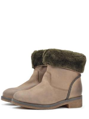 Ботинки бежевого цвета | 5694533